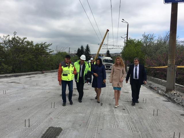Ремонтът на Аспаруховия мост приключва до 30 юни