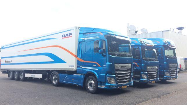 Демотур на новите DAF CF и XF в България