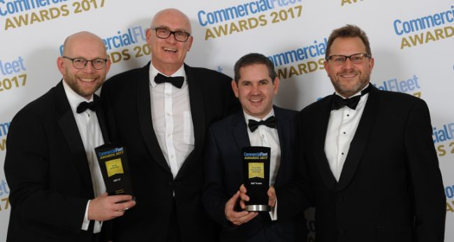 DAF с две важни награди във Великобритания