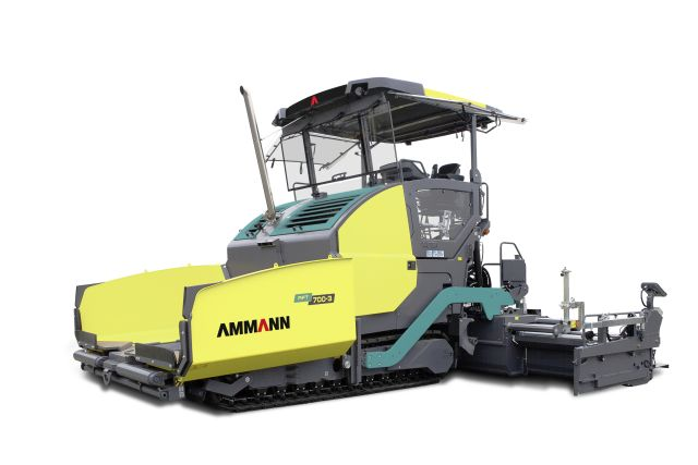Ammann с нова гама асфалтополагачи