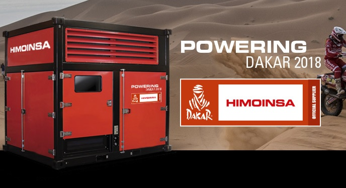 Himoinsa доставя електроенергията за Дакар 2018
