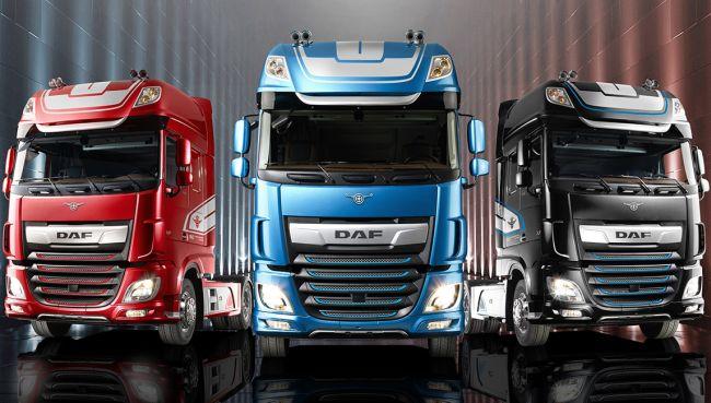 Лимитирана серия на DAF XF