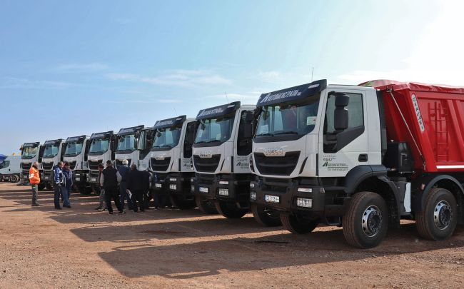 Още 8 Iveco Trakker за строежа на АМ Хемус