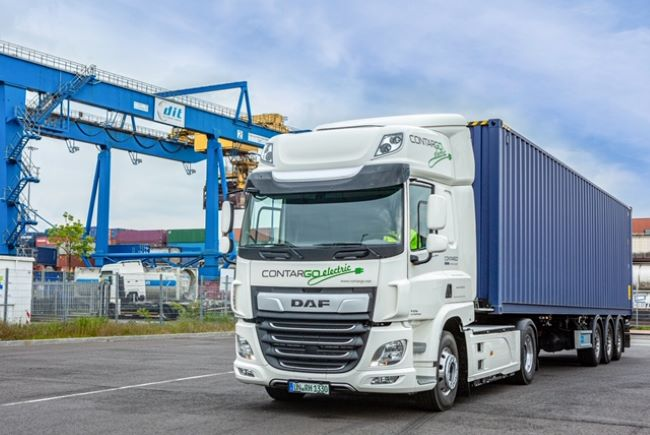 DAF CF Electric получи престижна награда