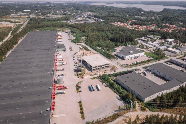 Центърът на Nokian Heavy Tyres готов през 2019-а