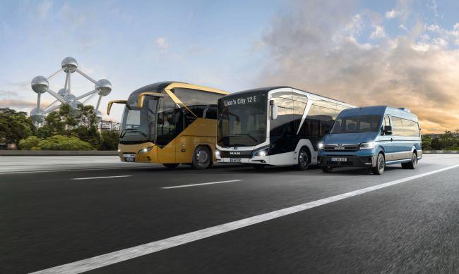 MAN Truck & Bus с 4 премиери на Busworld 2019