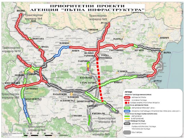 Модернизират над 54 км от пътя Видин - Ботевград