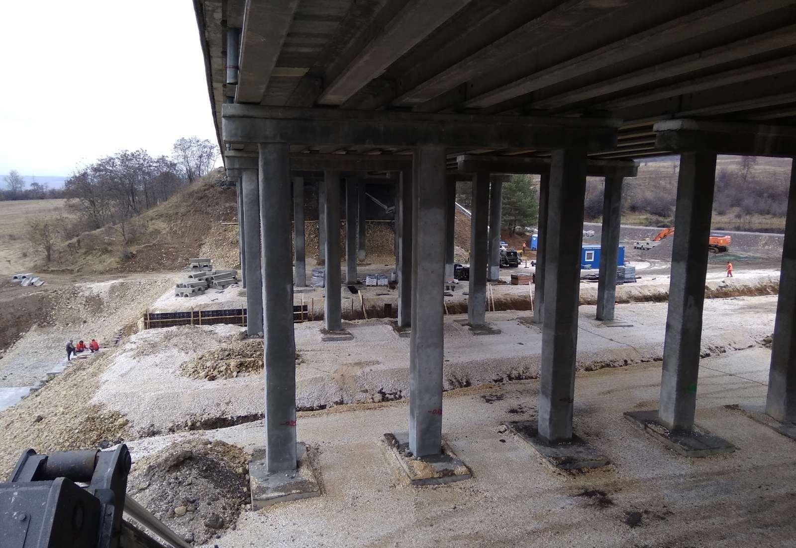 Виадуктът на Тракия готов до края на май