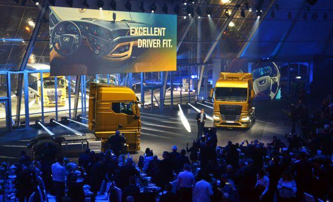Новата гама камиони на MAN е готова за бъдещето