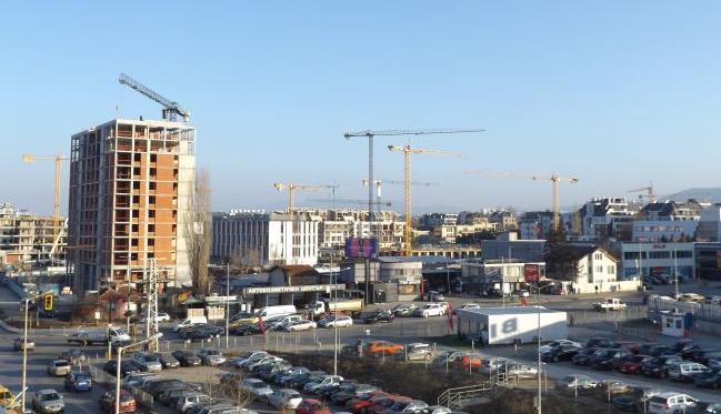 България на 4 място по спад на строителството в ЕС