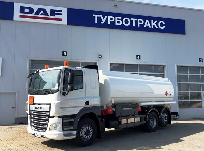 Триосен DAF CF 480 FAR за СИТИ ООД