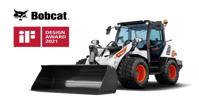 Нов компактен челен товарач Bobcat спечели награда за дизайн