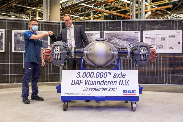 DAF Trucks с 3 млн. произведени оси за 50 години